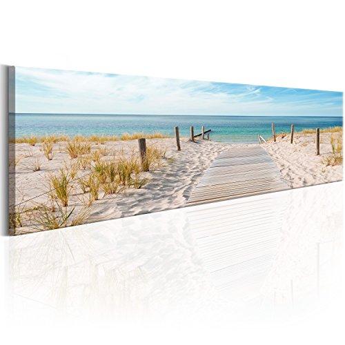 Murando   Cuadro 172x45 cm   Playa   lienzo tejido