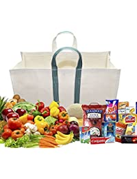 Strong Heavy Duty Milk Bag / Shopping Bags /Grocery Bag / Vegetable Bag With Reinforced Handles & Thick Bottom...