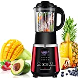 LQ&XL Smoothie Maker, Hochleistungs Mixer,Multifunktion Blender Compact Home Mini Standmixer 2200W für Milchshakes, Nüsse, Babynahrung, Crushed LCE,Red