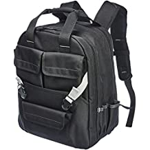 AmazonBasics Tool Bag Backpack - 51-Pocket with Adjustable Pouch Front