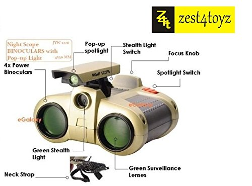 Zest 4 Toyz Night Vision Binocular with Pop Light
