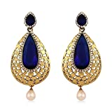 Inaya Alloy Crystal Yellow Gold Plated R...