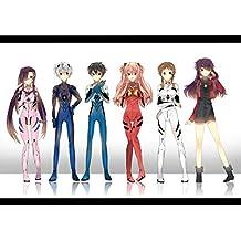 Neon Genesis Evangelion Customized 34x24 inch Silk Print Poster Seda Cartel/WallPaper Great Gift