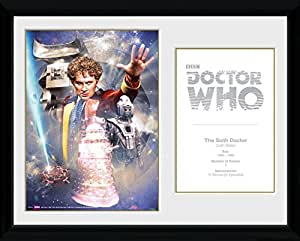 GB eye 16 x 12-inch Doctor Who 6th Doctor Colin Baker Framed Photograph, Assorted