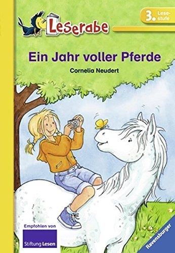 Preisvergleich Produktbild Ein Jahr voller Pferde (Leserabe - Schulausgabe in Broschur)