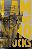 Laminiert Breaking Bad I Am The One Who Knocks Maxi Poster 57 x 86 cm