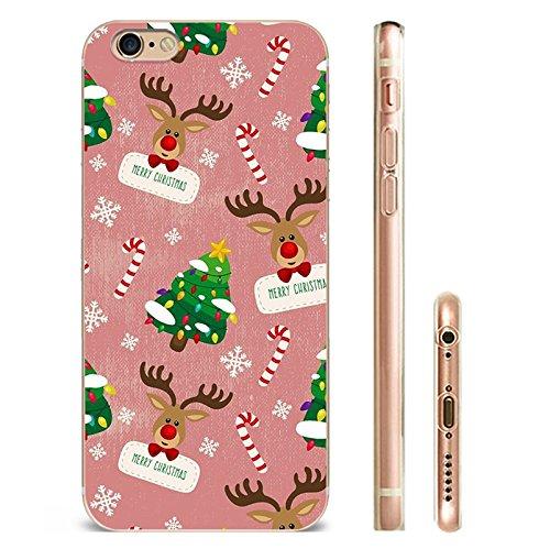 iphone6/6s Hülle Design für iPhone 6 Weihnachten Schneemann Merry Christmas snowflake für case iphone 6/6s-Das Beste Weihnachten Geschenk YM4