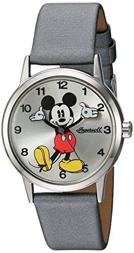 Ingersoll Disney-Orologio da donna al quarzo con Display analogico e cinturino in DIN002SLGY, colore: grigio