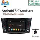Android 8.0 Double din with GPS Navigation System 8 inch 1080p Car Radio