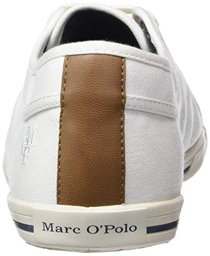 Marc Opolo Sneaker, Baskets Athletic Homme Blanc (weiß (blanc Cassé 110))