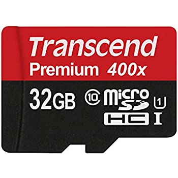 Transcend TS32GUSDCU1 - Tarjeta de Memoria microSD de 32 GB