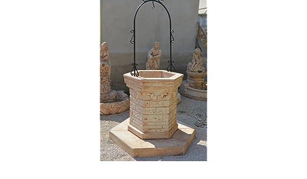 Pozzi Decorativi Da Giardino : Pozzo pozzi da giardino fontana arredo da esterno pozzo in cemento