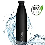 720°DGREE Edelstahl Trinkflasche milkyBottle 500ml, 0,5l | Innovative Isolierflasche | Auslaufsichere Thermosflasche | Perfekte Outdoor Thermoskanne für Kinder