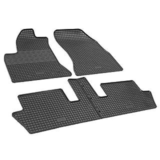 Gumi-Matten RIGUM Gummifußmatten passgenau geeignet für Citroen C4 Picasso 2006-2013 5-Sitzer