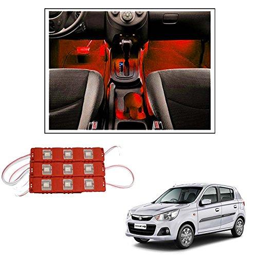 Vheelocityin 9 LED Custom Cuttable Car Red Light for Interior/...