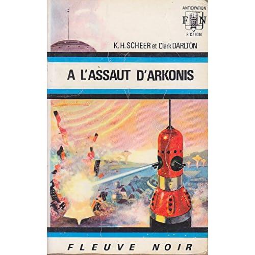 PERRY RHODAN 16 A l Assaut d Arkonis FNA 412 1970 EO