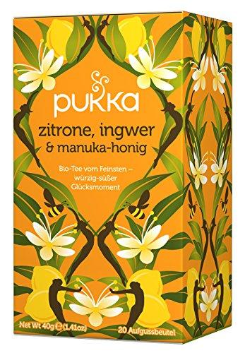 Pukka - Bio-Tee Zitrone-Ingwer-Honig - 20Bt/40g Honig-zitrone-ingwer
