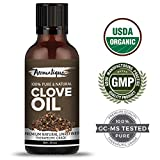 #8: Clove Essential Oil ,Therapeutic Grade 100% Pure Clove Oil for Teeth,Hair and Skin by Aromatique (15 ML)