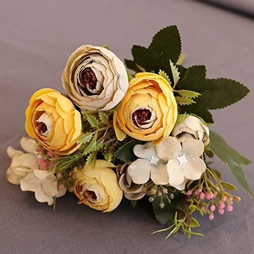 Blumen, Diamanttee, Tee, Rose, Fabrik, Großhandel, dekorative Blume, Blume, Foto, Fotografie, Requisiten, gefälschte Blumen, Alter Farbe Frühlingstee, einzeln ()