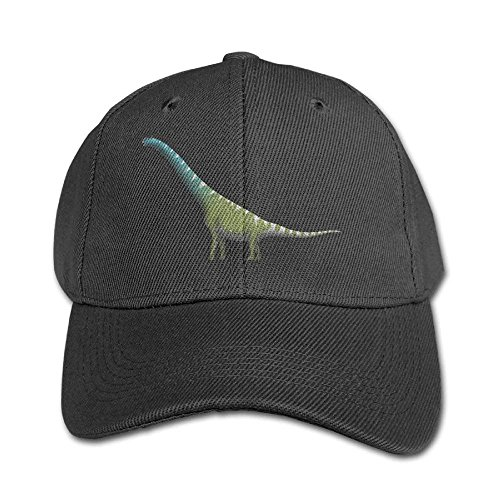 rongxincailiaoke Gorras béisbol Brachiosaurus Adjustable Snapback Hip-Hop Baseball Hat Cap For Kid Four Seasons
