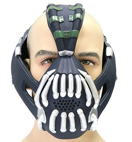 Halloween Maske Bane Cosplay Herren Erwachsene Gesicht Masken Kostüm Stütze für Fancy Dress Karneval - Bane Halloween