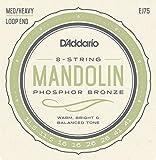 D'Addario EJ75 Phosphor Bronze Sete per Mandolino, Tensione Media/Alta, 11.5-41