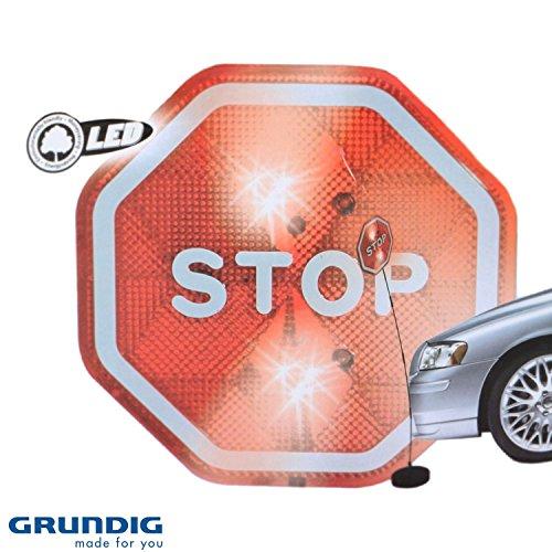 Grundig Asistente de Aparcamiento, Cartel Stop con LED