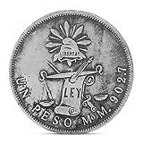 Exing Sammlermünzen Münze, Kopie 1872 Die Mexikanische Republik Silber Eine Peso Eagle Emboss Plating Andenken Münze Kupfer Währung