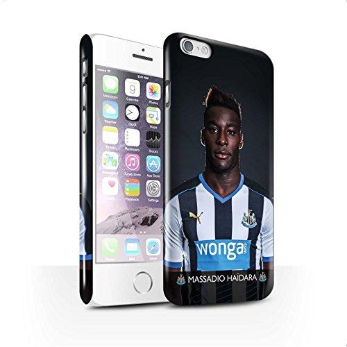 Officiel Newcastle United FC Coque / Clipser Brillant Etui pour Apple iPhone 6S / Anita Design / NUFC Joueur Football 15/16 Collection Haïdara