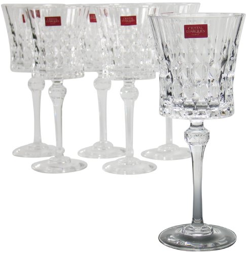 Cristal d´Arques, Lady Diamond copa para vino 270ml, sin la marca de