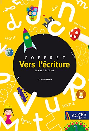 Coffret Vers l'criture Grande Section