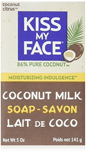 Kiss My Face Coconut Milk Bar Soap (141g)