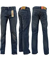 Mens Levi Strauss 527 Bootcut Jean Blue Denim Pants Trouser Sierra