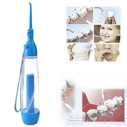 HailiCare 70ml Munddusche Water Jet Flosser Oral Irrigator Teeth Cleaner für Zahnzwischenraum Reinigung und Mundhygiene
