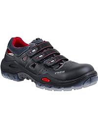 "Ejendals 3800A-40 Size 40 ""Jalas 3800A Monza Respiro C"" Safety Sandals - Black/Red"