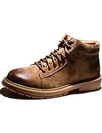 Zapatos De Trabajo Negros para Hombre Entrenadores Resistentes Al Agua Al Aire Libre Botas De Invierno
