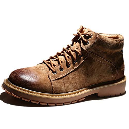af52d274c66cd Zapatos De Trabajo Negros para Hombre Entrenadores Resistentes Al Agua Al  Aire Libre Botas De Invierno