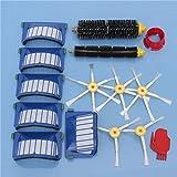 Yongse 15pcs Kit de accesorios para aspiradoras Filtros y Cepillos para iRobot Roomba serie 600