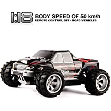 Dazhong WLtoys 1/18 scala elettrica RC Offroad 2.4Ghz 4WD High Speed Car telecomandata, Off-Road Buggy hobby Giocattoli