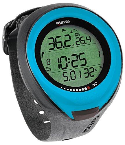 Mares - Reloj/Ordenador de buceo Puck Pro Color, azul claro, talla ún