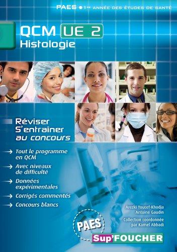 QCM UE2 Histologie