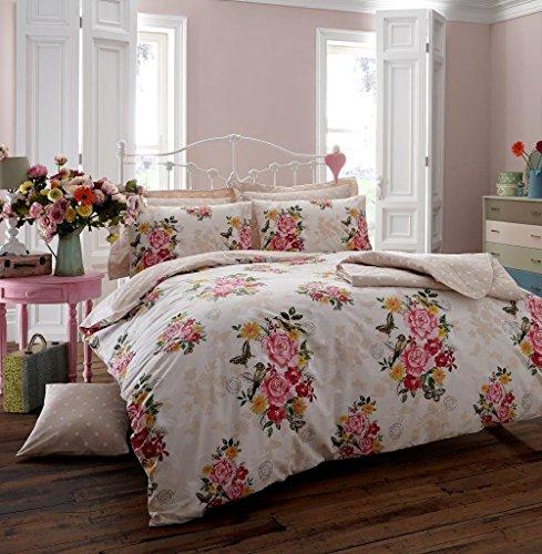 Ava Memory Bettwäsche Quilt Kissen Bezug Bettbezug-Set, bedruckt-Baumwoll-Mischgewebe, reversibel, alle Größen, mint, King Size