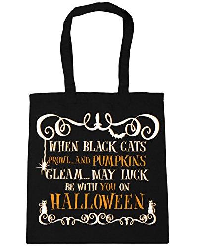 men Strandtasche Gr. Einheitsgröße, schwarz (Halloween Candy Tumblr)