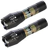 Diese CREE Taschenlampe erreicht eine Leuchtweite von ca. 300 Meter. Das Gehäuse besteht aus Aluminium-Druckguss, was unendliche Möglichkeiten bei der Formgebung bietet. Im Vergleich zu anderen Taschenlampen ist diese Taschenlampe leichter, kompakter...