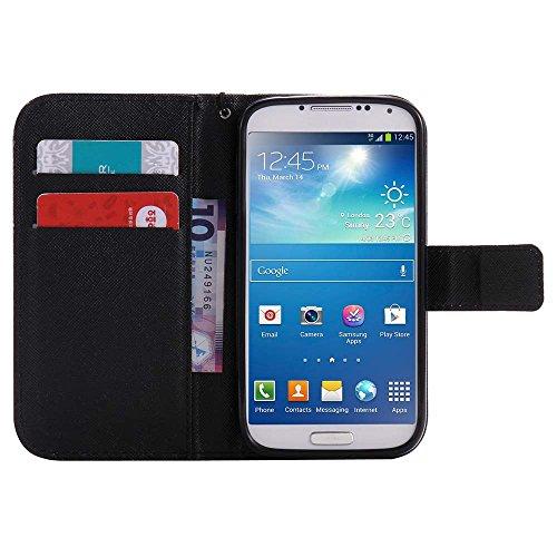 C-Super Mall-UK Apple iPhone 6 / 6s hülle, Qualität PU-Leder Brieftasche Stehen Flip hülle für Apple iPhone 6 / 6s Monocular mice