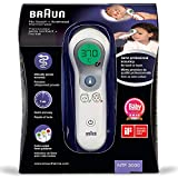 Braun 609338 Thermomètre sans contact frontal blanc