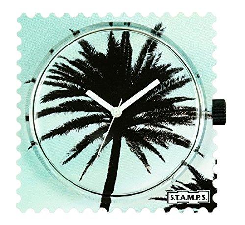 stamps-stamps-uhr-zifferblatt-palm-tree-104298