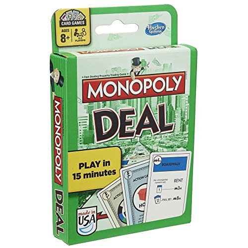 Monopoly Deal Juego de cartas