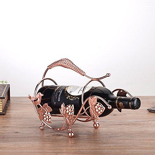 Weinregal YANFEI Dekoration Flasche montiert einzelnes Produkt Flaschenregal Weinkühler Home Wohnzimmer (Flasche Weinkühler Einzelne)
