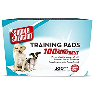 Simple Solution Dog Training Pads - 100 Pack
